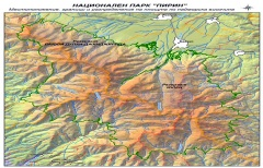 Местоположение и граници на Парк Пирин